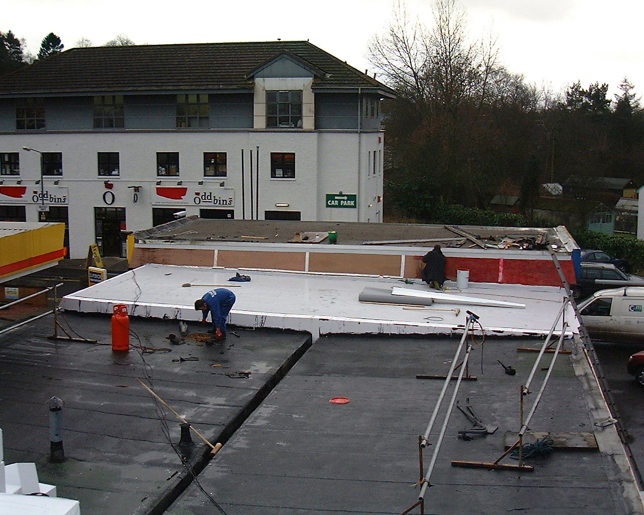 Service Station And Convenience Store Roof Insulation Case